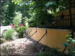 Ram Jack Repairs Two Retaining Walls In Chappell Hill
