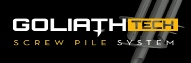 GoliathTech Helical Screw Piles