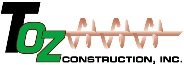 T OZ Construction Logo