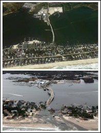 Mantoloking, NJ Before and After Hurricane Sandy